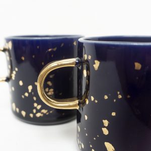 Kubek XXL Galaktyka, pojemny, bardzo duży, 100% handmade, emwustudio